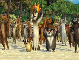 Madagascar Movie Nice song I like to move it