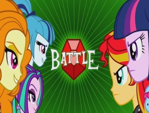 My little Pony Equestria Girls - Battle of the Bands